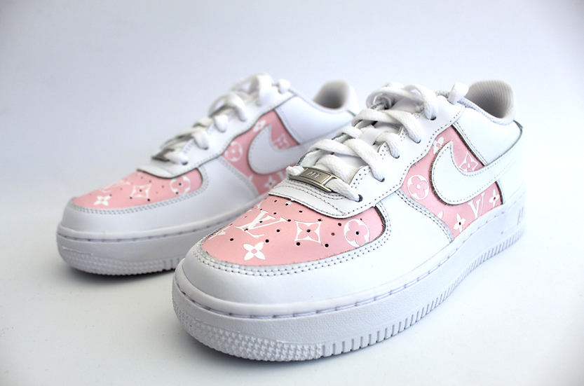 Double LV inspired Air Force 1 - Junior