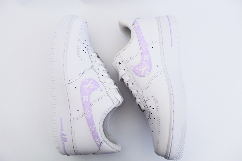 LV inspired Air Force 1 - Junior