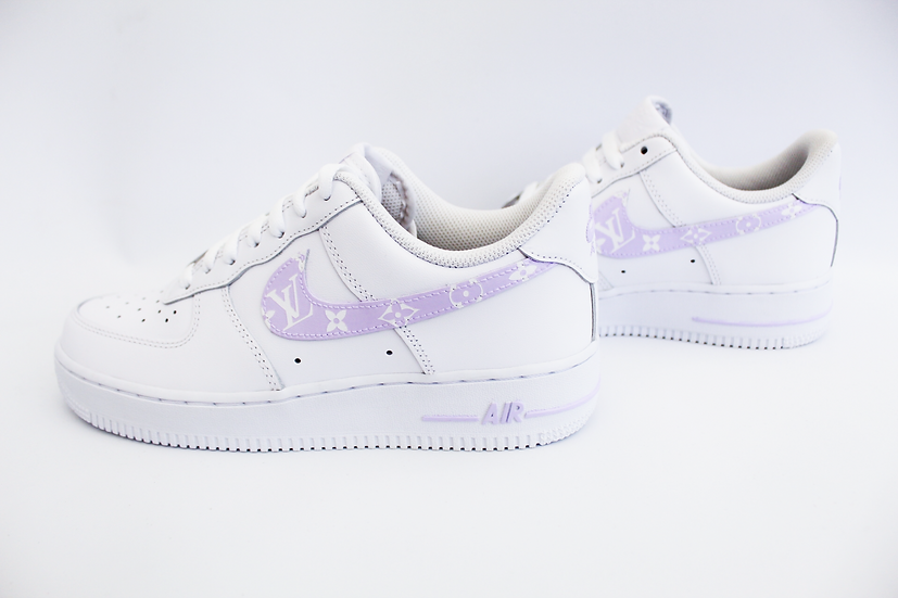 LV inspired Air Force 1 - Younger Kids