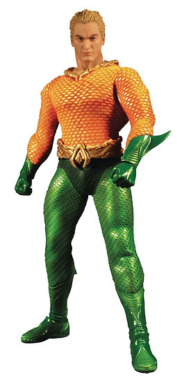 ONE-12 COLLECTIVE DC AQUAMAN ACTION FIGURE