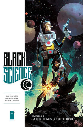 BLACK SCIENCE TP VOL 08 LATER THAN YOU THINK