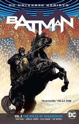 BATMAN TP VOL 05 RULES OF ENGAGEMENT REBIRTH