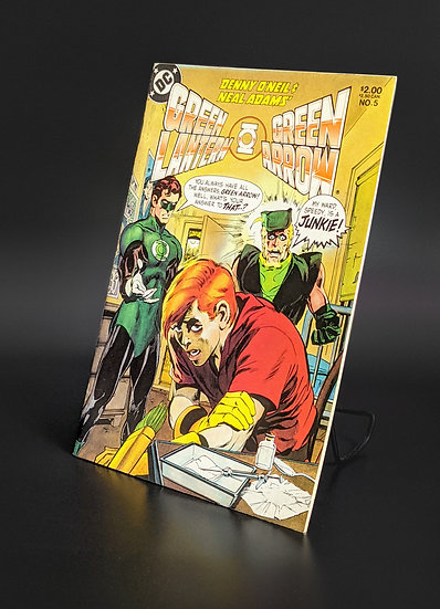 GREEN LANTER/GREEN ARROW #5 REPRINT OF ISSUES #84 & #85 NM/M (DC, 2004)