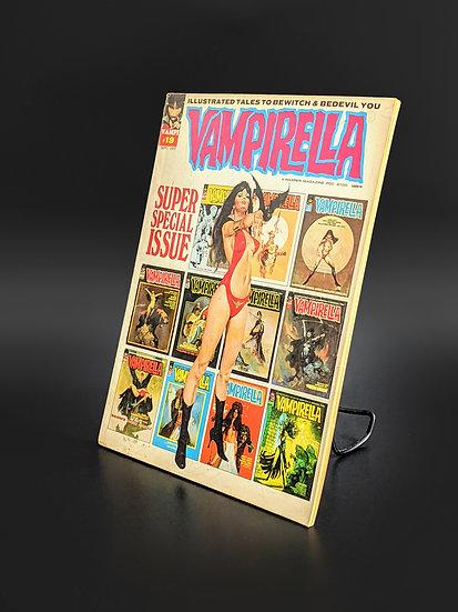 VAMPIRELLA MAGAZINE COMIC #19 VF (1972)