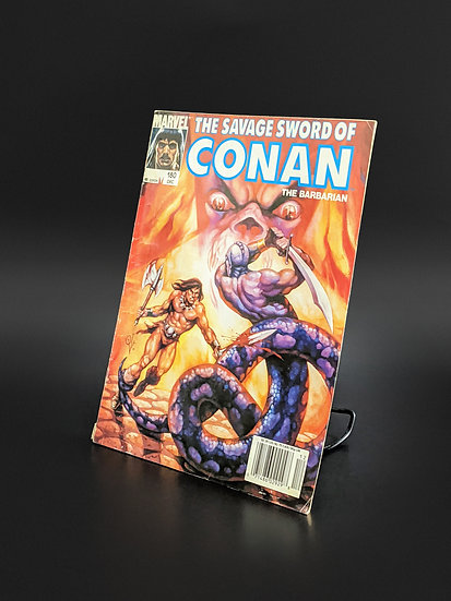 THE SAVAGE SWORD OF CONAN VOL. 1 #180 FN (MARVEL, 1990)