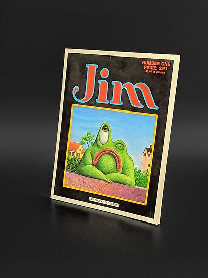 NEW JIM WOODRING - JIM #1 [FIRST SERIES, MAGAZINE] NOT GRADED VF/NM