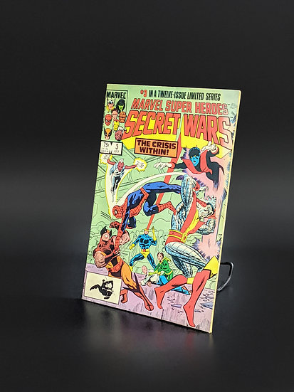 MARVEL SUPER HEROES SECRET WARS #3 1ST TITANIA APP. F/VF (MARVEL, 1984)