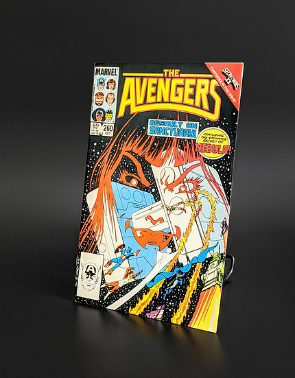 AVENGERS #260 1ST NEBULA COVER AND ORIGIN VF/NM (MARVEL, 1985)