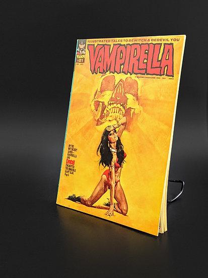 VAMPIRELLA MAGAZINE COMIC #21 VF (1972)