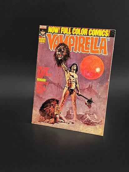 VAMPIRELLA MAGAZINE COMIC #25 VF (1973)