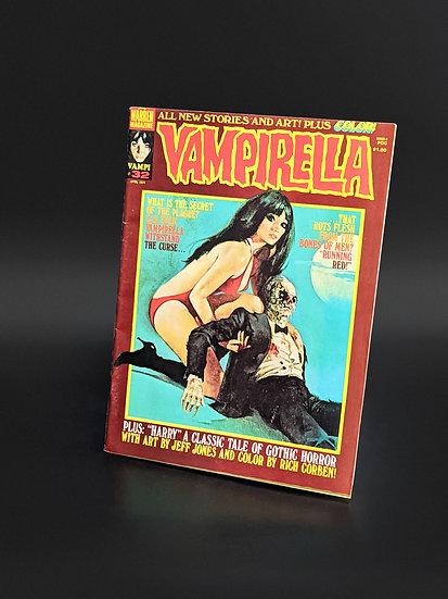 VAMPIRELLA MAGAZINE COMIC #32 VF (1974)