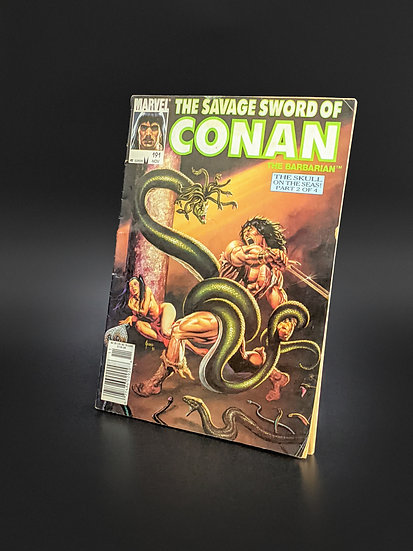 THE SAVAGE SWORD OF CONAN VOL. 1 #191 VG (MARVEL, 1992)
