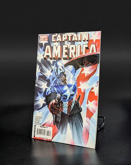 CAPTAIN AMERICA #34 - ALEX ROSS 50/50 VARIANT COVER F/VF (MARVEL, 2004)