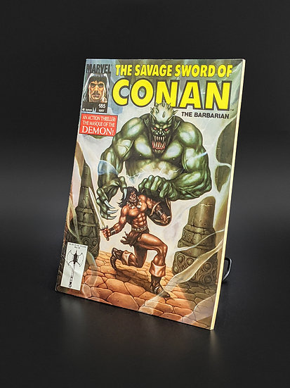 THE SAVAGE SWORD OF CONAN VOL. 1 #185 FN/VF (MARVEL, 1991)