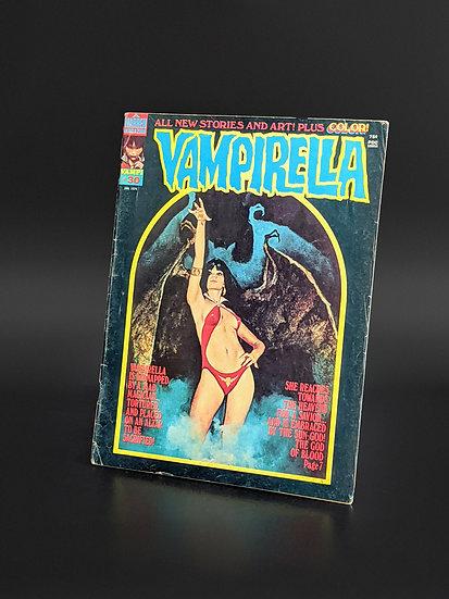 VAMPIRELLA MAGAZINE COMIC #30 G/VG (1974)