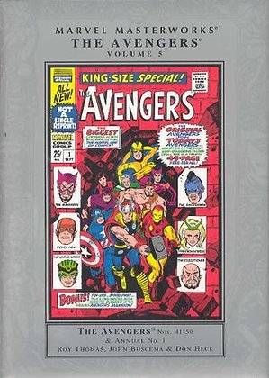 MMW AVENGERS HC VOL 05 NEW ED