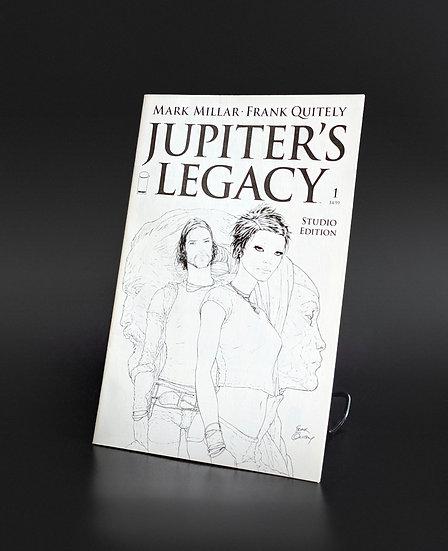 JUPITER'S LEGACY #1 MARK MILLAR FRANK QUIETLY SKETCH CVR NM/M (IMAGE, 2013)