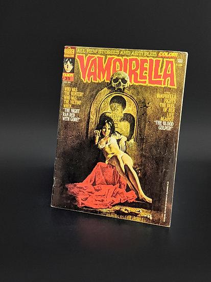 VAMPIRELLA MAGAZINE COMIC #35 F/VF (1974)