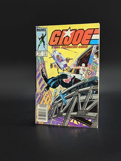 GI JOE #27 SNAKE EYES ORIGIN, MOVIE 2021 (MARVEL, 1984)