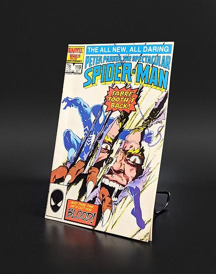PETER PARKER: THE SPECTACULAR SPIDER-MAN #119  (MARVEL, 1986)