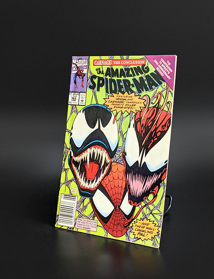 AMAZING SPIDER-MAN #363 THIRD APPEARANCE OF CARNAGE VF/NM (MARVEL, 1992)