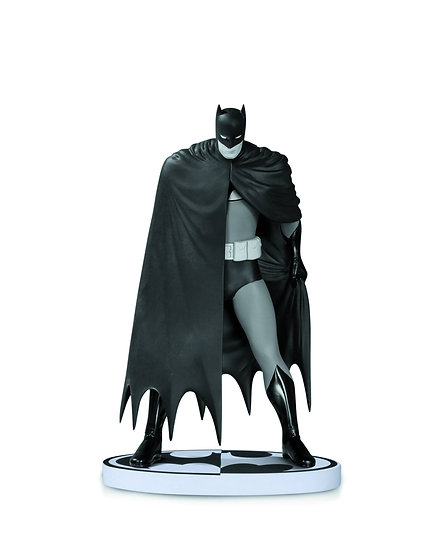 BATMAN BLACK & WHITE STATUE DAVE MAZZUCCHELLI 2ND ED