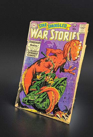 STAR-SPANGLED WAR STORIES #90 FIRST DINOSAUR ISLAND APPEARANCE P(DC, 1960)
