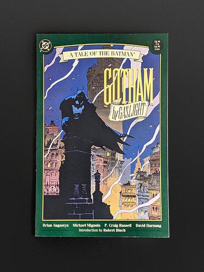 GOTHAM BY GASLIGHT: TALE OF BATMAN FIRST PRINTING VF/NM (DC, 1989)