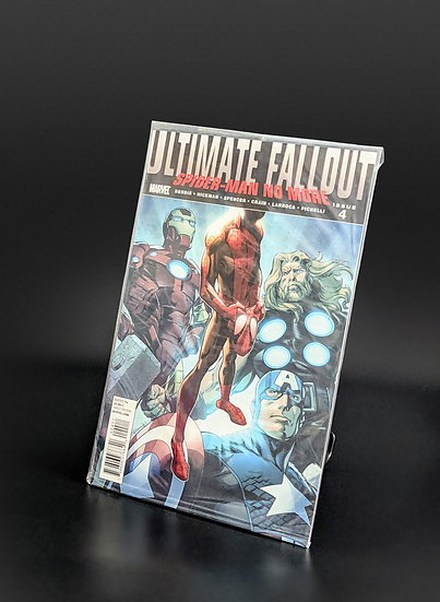 ULTIMATE FALLOUT #4 - MILES MORALES 1ST APPEARANCE/1ST PRINT NM/M (MARVEL, 2011)