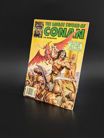 THE SAVAGE SWORD OF CONAN VOL. 1 #202 FN/VF (MARVEL, 1992)