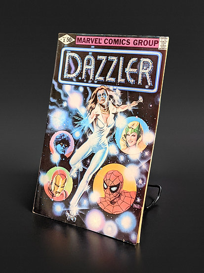 DAZZLER #1 - DEBUT ISSUE FN/VF (MARVEL, 1981)