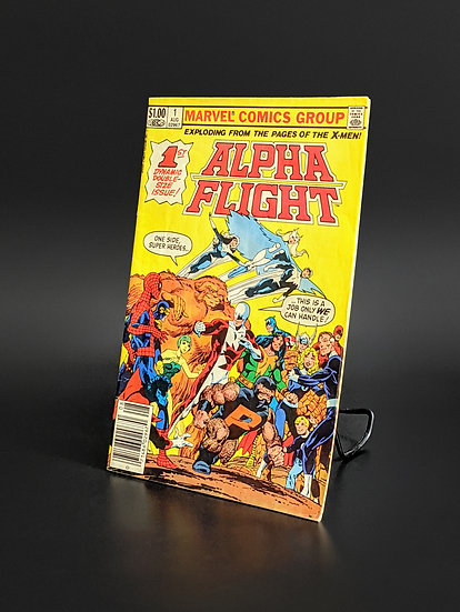 ALPHA FLIGHT #1 FIRST APPEARANCE OF PUCK VF/NM (MARVEL, 1983)