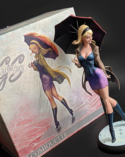 GWEN STACY - J. SCOTT CAMPBELL PREMIUM FORMAT™ FIGURE BY SIDESHOW COLLECTIBLES