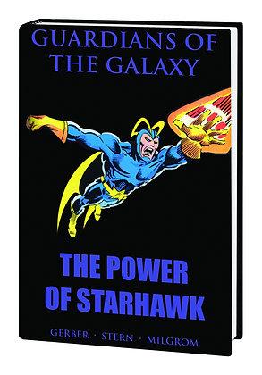 GUARDIANS OF GALAXY PREM HC POWER STARHAWK