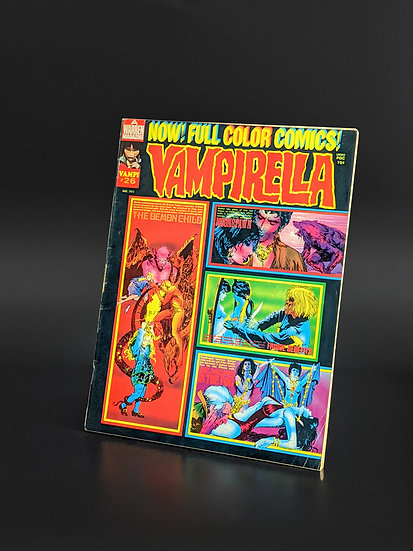 VAMPIRELLA MAGAZINE COMIC #26 VF (1973)