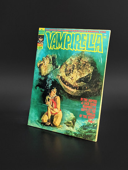 VAMPIRELLA MAGAZINE COMIC #29 VG/F (1973)