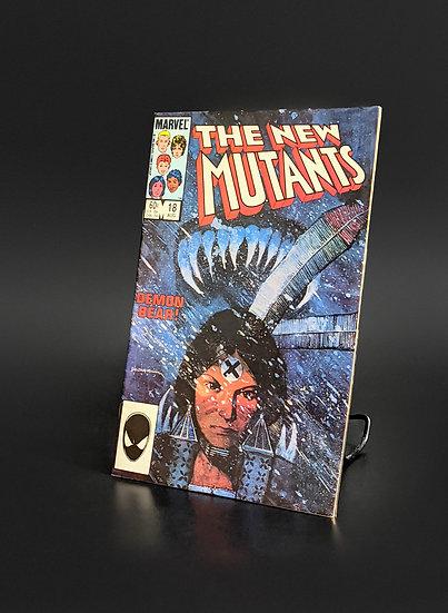 NEW MUTANTS #18 1ST APP. OF DEMON BEAR, WARLOCK, & MAGNUS VF/NM (MARVEL, 1984)