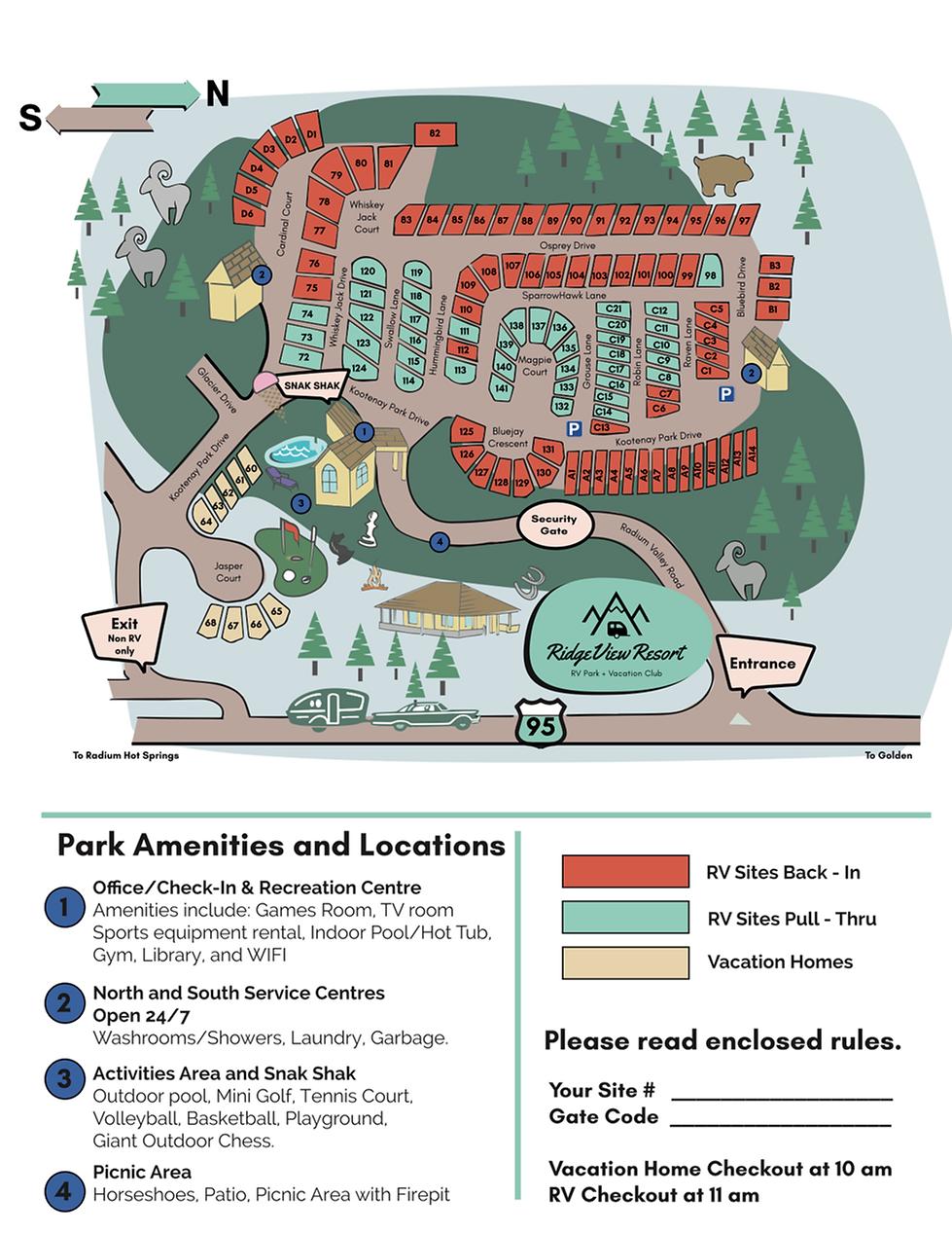RidgeView Resort Map.png