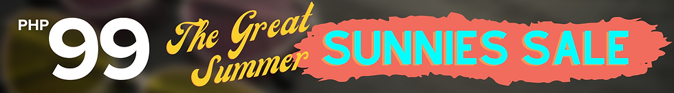 The Great Summer Sunnies Sale