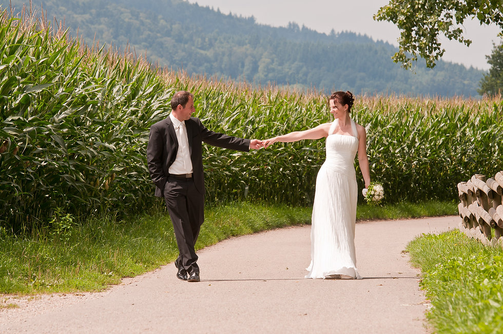 Hochzeit mit Leidenschaft