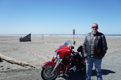 The Bike made it to the Ocean