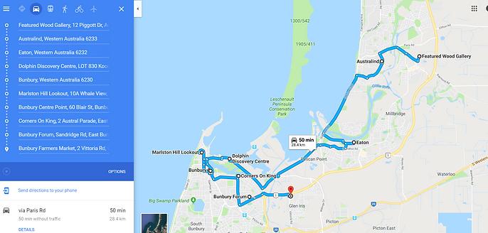 Bunbury, Eaton, Australind | Travel | Australia | Travellin1on1