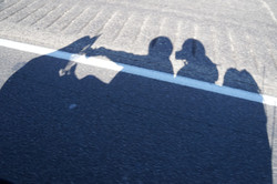 Shadows of the final ride to LA