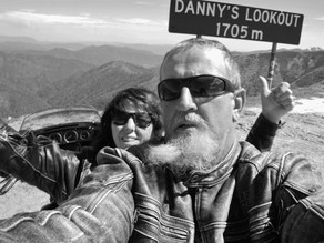 Mountains on the Harley....