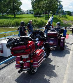 Riding the Ferry Drumheller Alberta