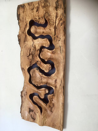 Burr Beech Wall Sculpture