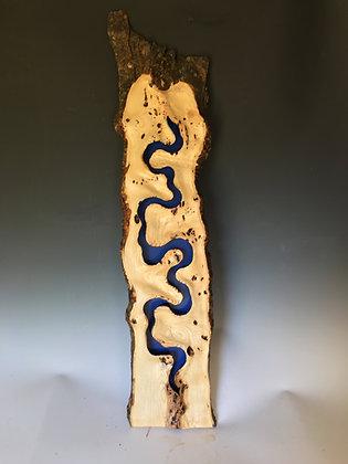 Burr Ash 'River Wall Hanging