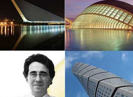Famous Architects who Changed Our Perspective ( Valencia, Barcelona, Madrid, Bilbao, Zaragoza, Paris
