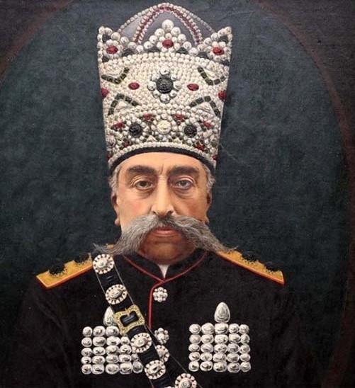 Ropa oficial época Qajar