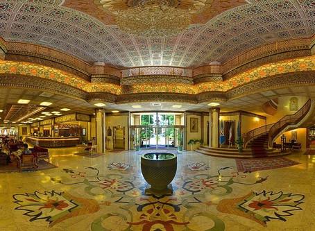 Hotel Abbasi (Isfahán). Un lujo entre los hoteles de Oriente Medio.